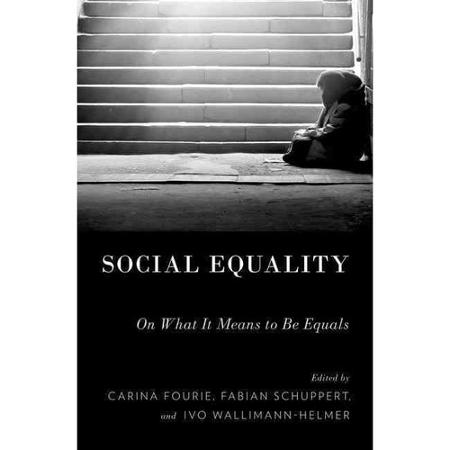 Cover of 'Social Equality. On What It Means to Be Equals'
